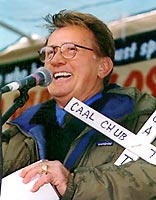 Actor Martin Sheen at the 2000 Rally to close the SOA.