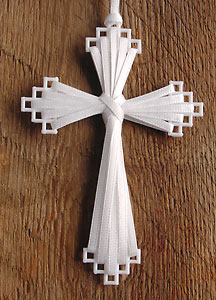 Cheryl's Ribbon Cross.
