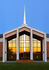 Manipulated photo of Plainview Church of Christ - Hazel Green, AL
